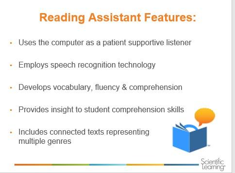 Reading Assistant slide
